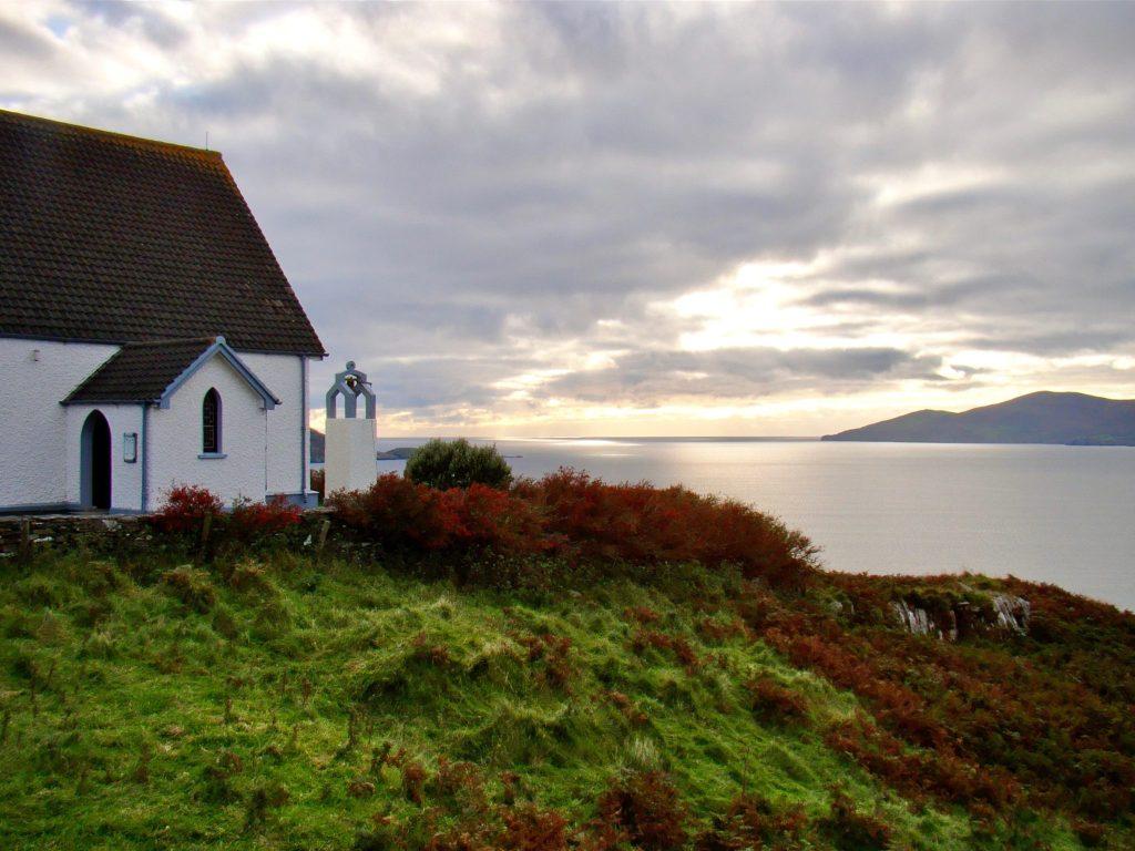 Church near Golf Club on Ring of Kerry