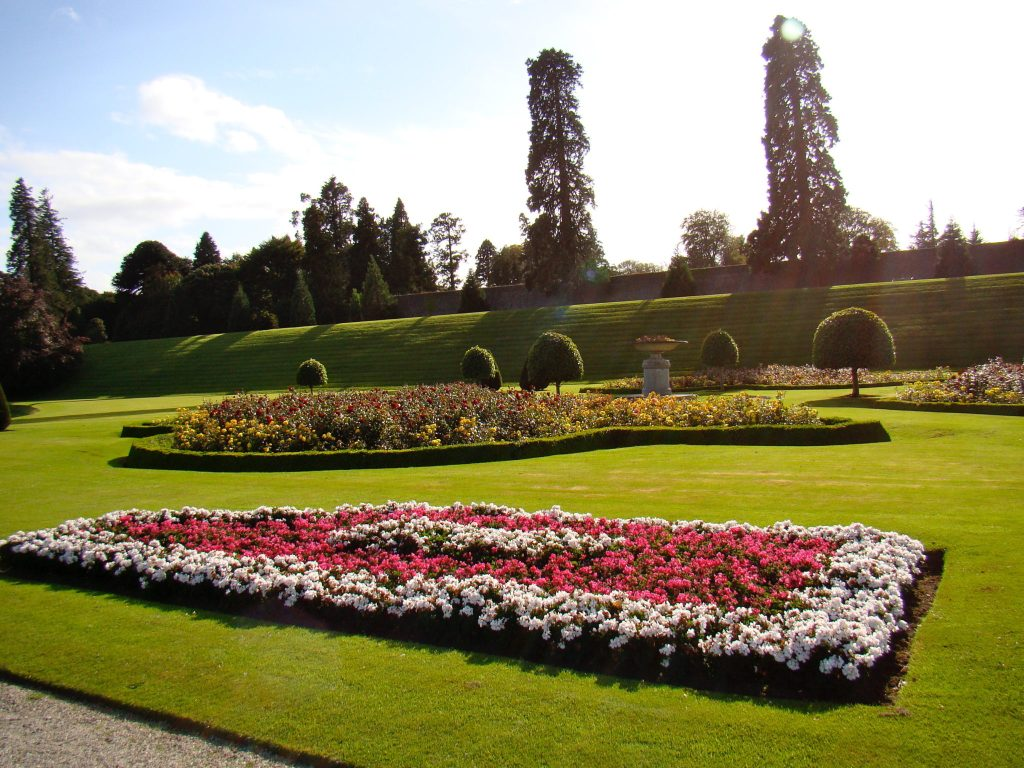 Italian Gardens at Powerscourt Ireland