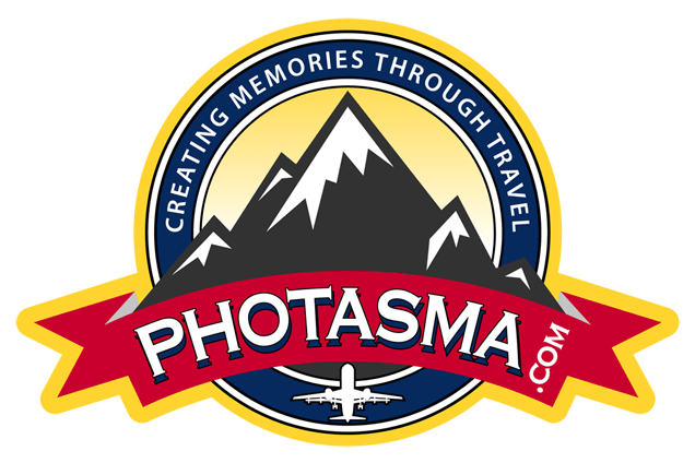 photasma.com Logo, Creating Memories Through Travel