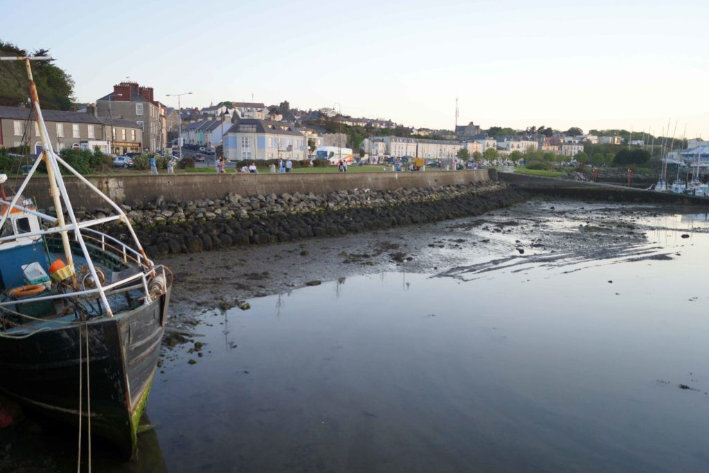 Low Tide at Howth Harbor & Pier Ireland
