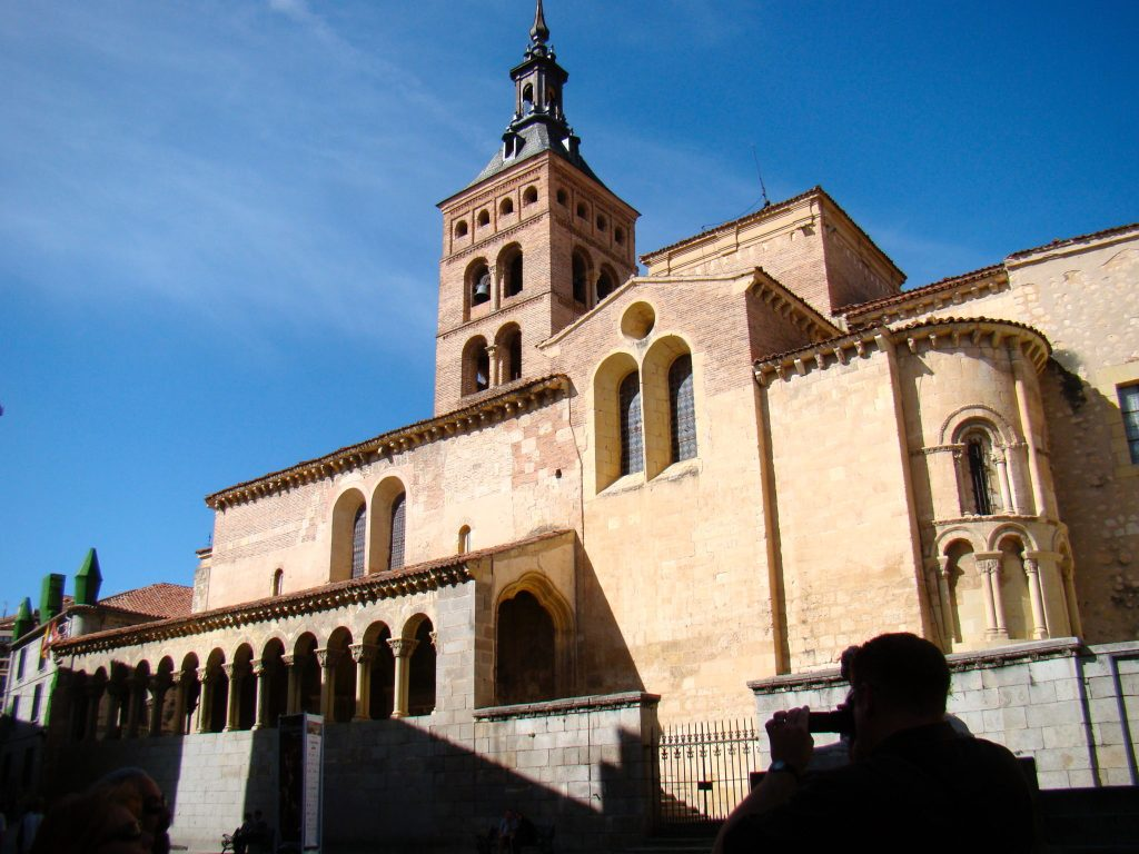 Iglesia de San Martín, Segovia Spain