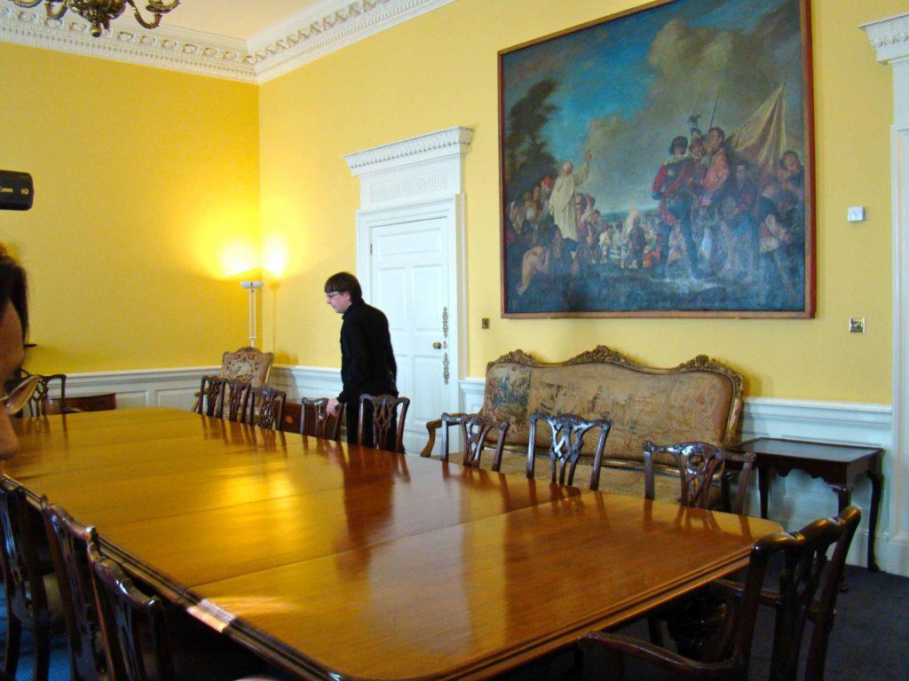 Dining Room at Dublin Castle