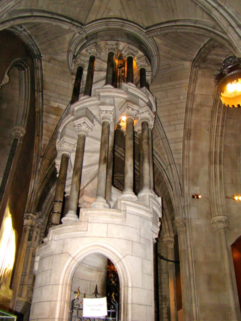 Saint Patrick's Cathedral Dublin Spiral Stairs