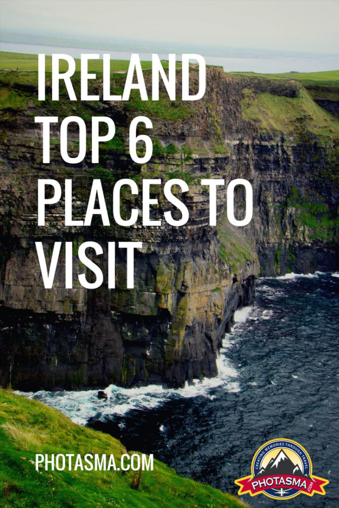 Ireland Top 6 Places To Visit, Ireland, Top, places, to, visit, 10, 6