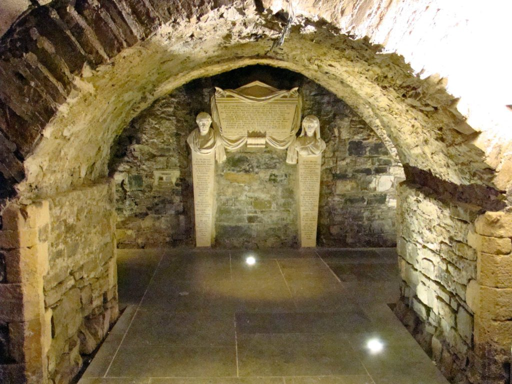Tomb within Crypt of Christ Church Dublin