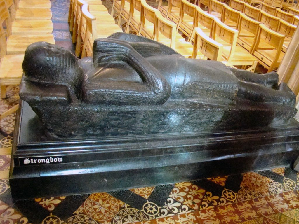 Tomb of Strongbow at Christ Church Cathedral Dublin