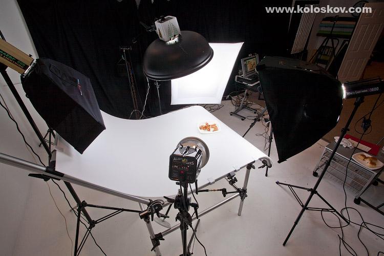 atlanta food photograper chinken wings lighting setup from left