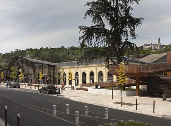 La gare d'Agen en photo en 2014 ©photo Patrick Clermont