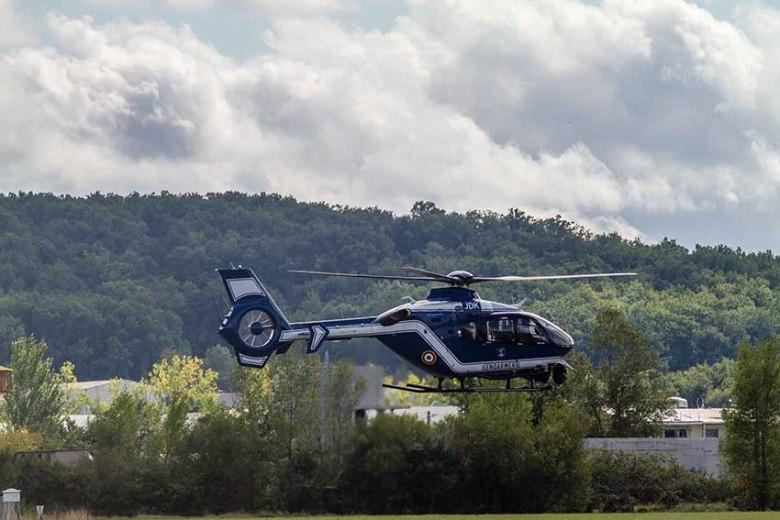 Helicoptere de la gendarmerie EC135 f©photo Patrick Clermont