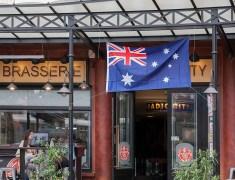 photo semaine 40 drapeau australien