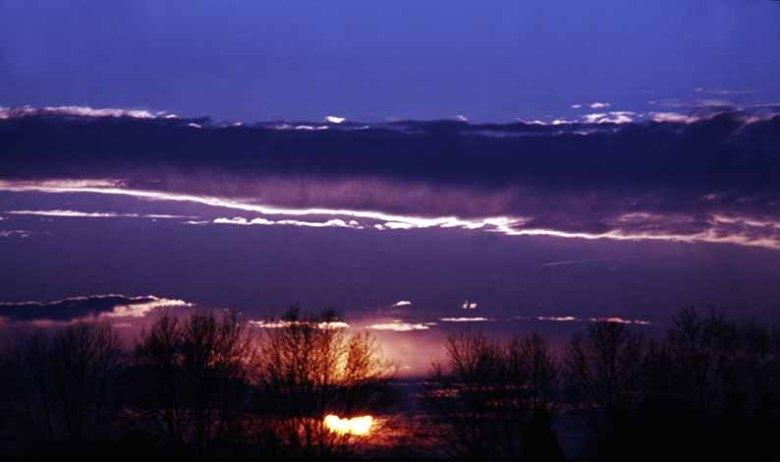 photosemaine-49_couchez de soleil sur lac de passeligne