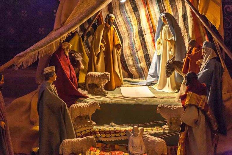 Crèche de Noël de la Cathédrale d'Agen-©photo Patrick Clermont
