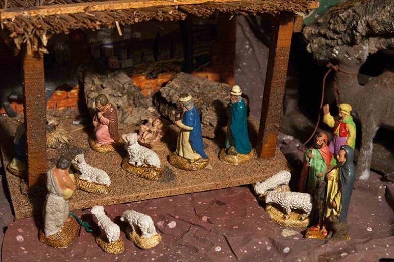 Crèche de Noël domestique©photo Patrick Clermont
