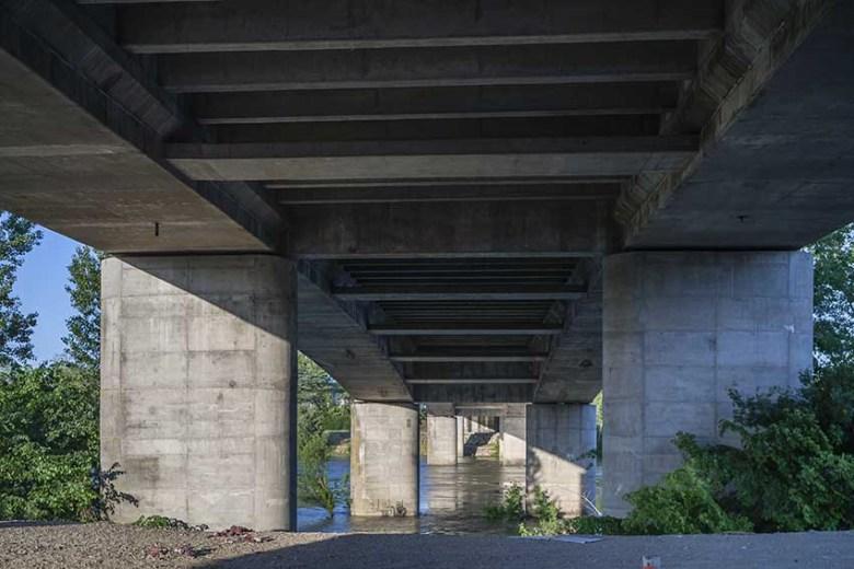 Pont de Pierre-nouvelles piles