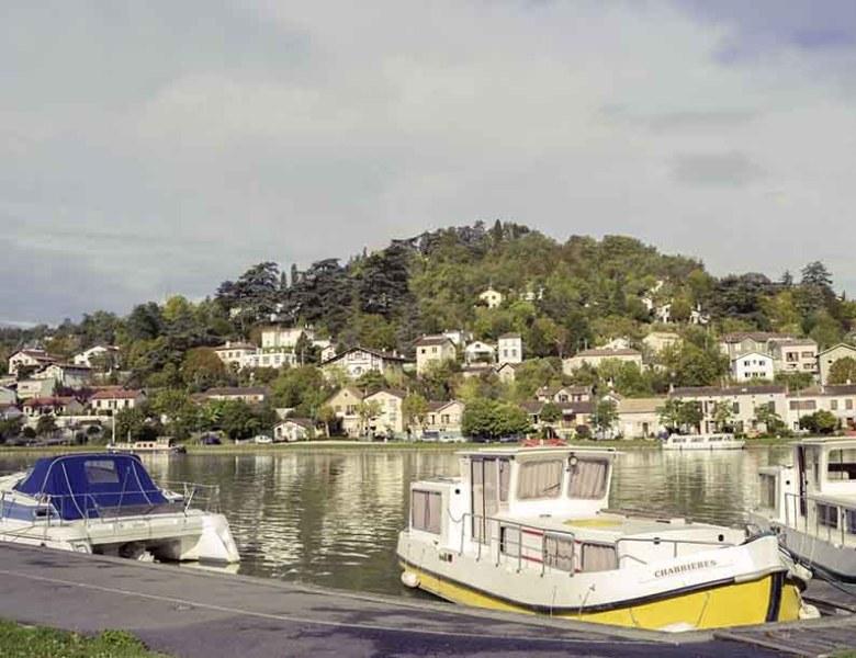 canal bateau et hermitage