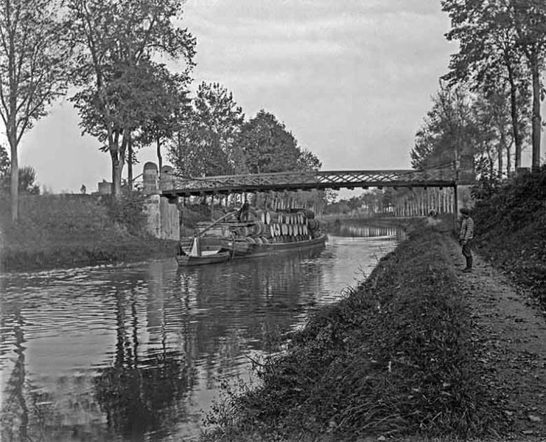 navigation canal latéral à la garonne 1910