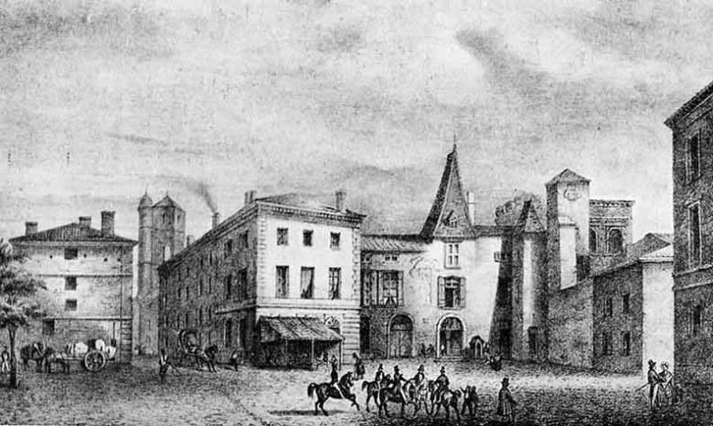 la-place-du-palais-en-1841