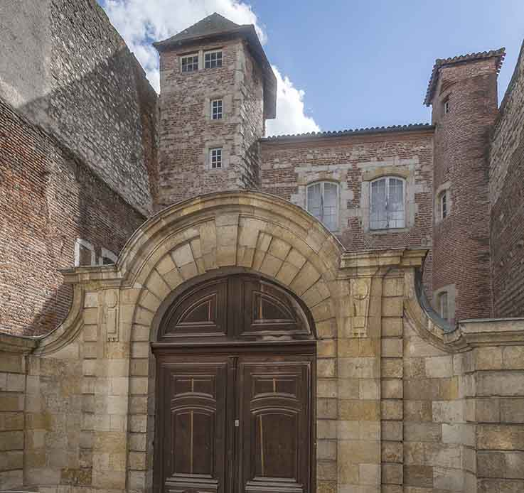 Hotel de Monluc vue rue des juifs