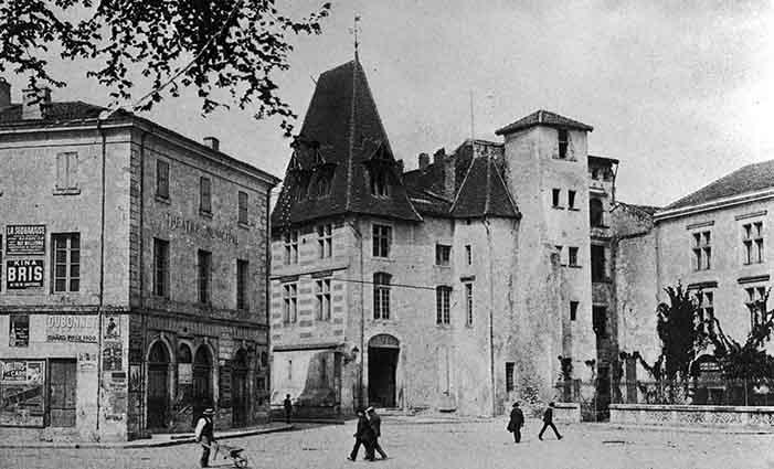 Le Musée Agen en 1900