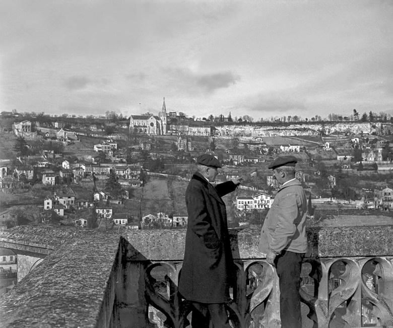 Ermitage vu du clocher de St Caprais en1921