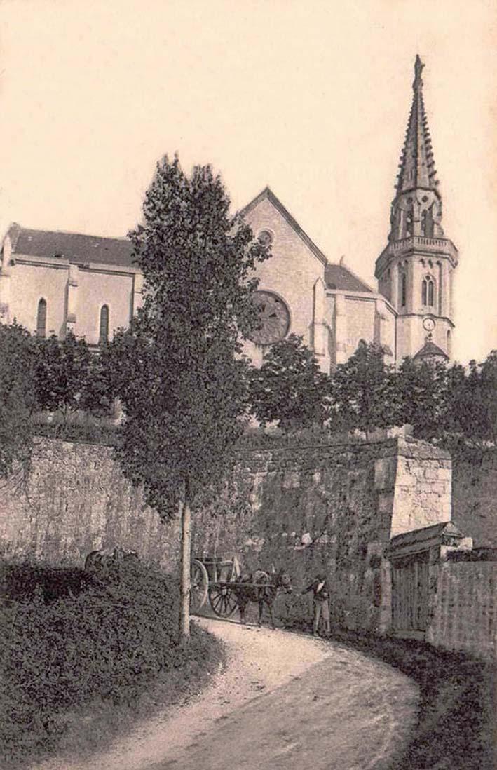 eglise Ermitage St Vincent à Agen en 1900