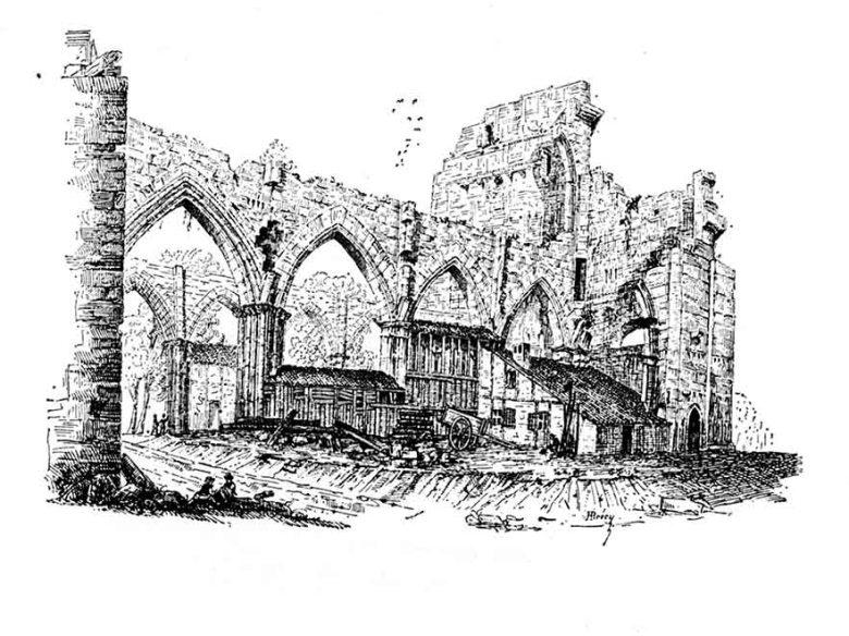 Cathédrale Saint Etienne Agen vers 1835