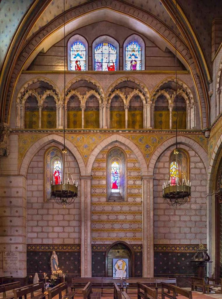 Cathédrale Saint-Caprais-Triforium du Croisillon Nord