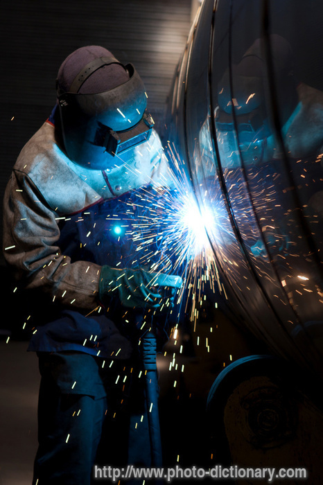 Welding Photopicture Definition At Photo Dictionary