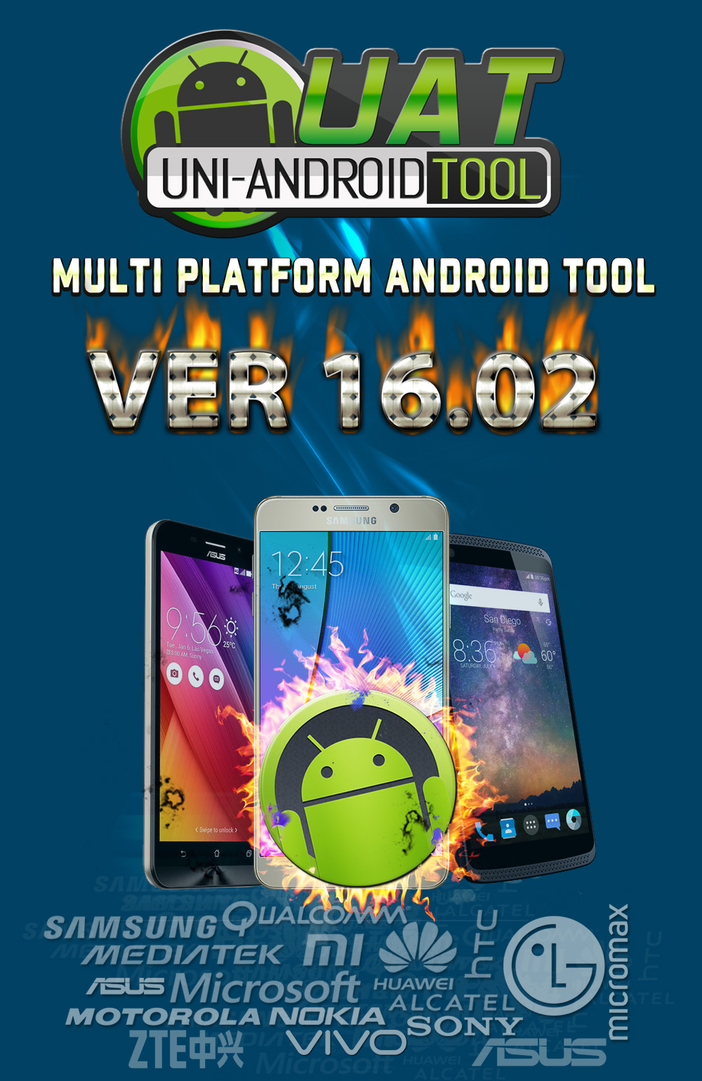 Uni-Android Tool [UAT] Version 16 02 Released [8/4/2018] – مدونة