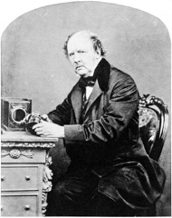 Portrait de William Henry Fox Talbot, 1800-1877
