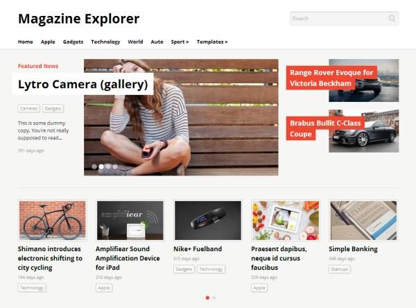 Magazine Explorer