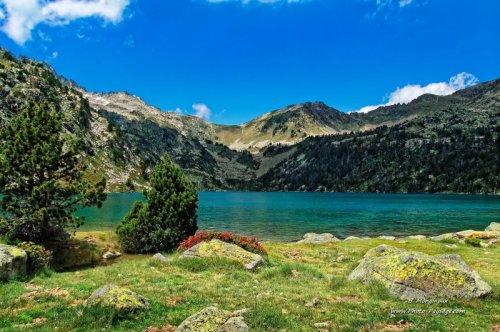 Lac de haute montagne : Lac d'Aubert