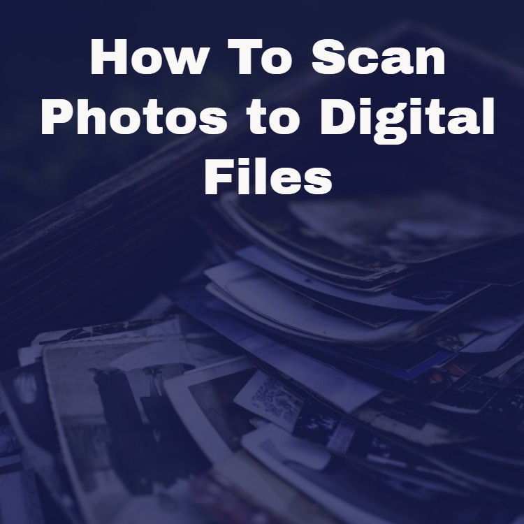 how to scan photos to cd guides