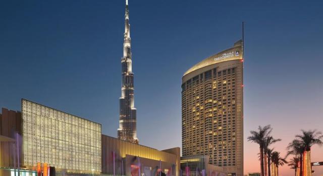 فندق العنوان دبي مول من افضل فنادق دبي مول