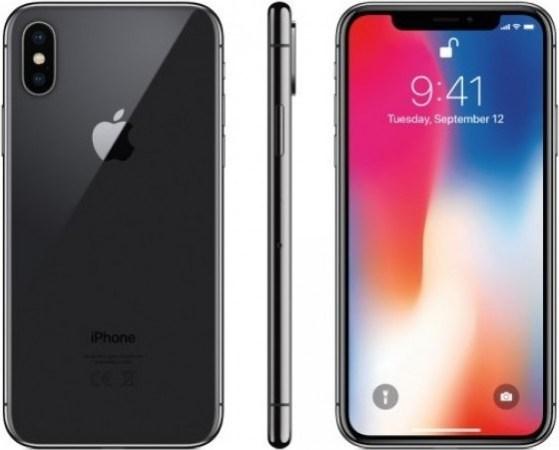 ايفون X بدون تطبيق فايس تايم – 64 جيجا, الجيل الرابع ال تي اي, رمادي