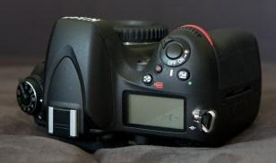 Nikon D600 oben