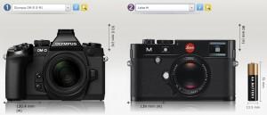 OM-D vs. Leica M