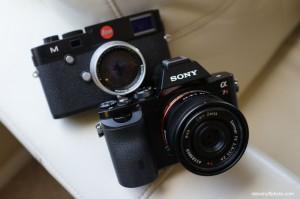 Sony a7 vs. Leica M