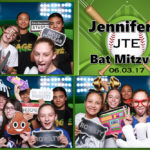 Personalized layouts are included with each photo booth package