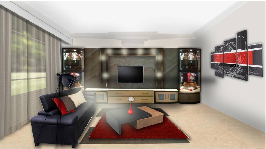 Modern bar for living room. basement designs themes. living room ...