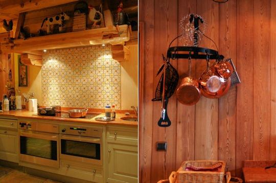 Cuisine Style Chalet Cuisine Style Chalet Montagne With