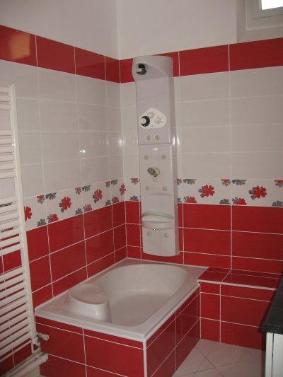 Dcoration Salle De Bain Rouge Et Blanc