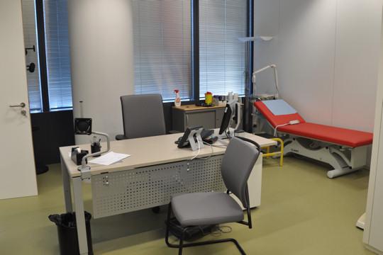 organisation decoration bureau medecin