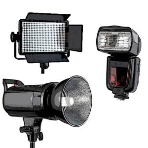 Flash e Illuminatori