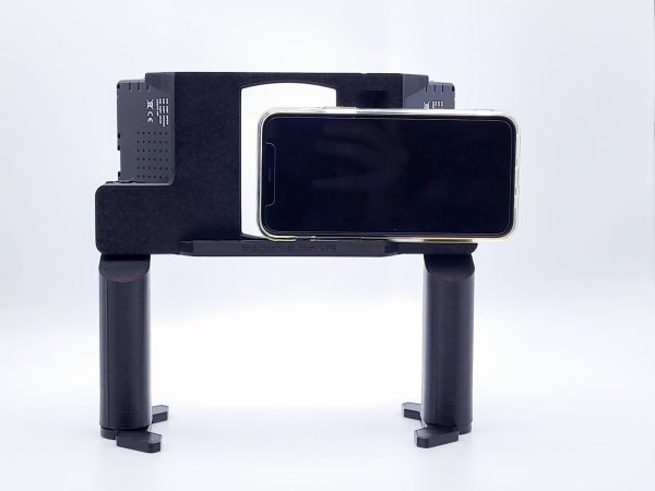 VPR with dual grips, rear view
