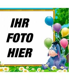 Geburtstag Rahmen Fr Kinder Mit Igor Dem Esel Von Winnie