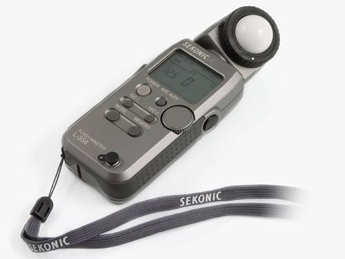 Sekonic L-358 lichtmeter