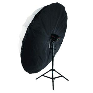 "72"" Black Panel Umbrella Cover"