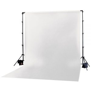 Muslin Backdrop 10x12' White