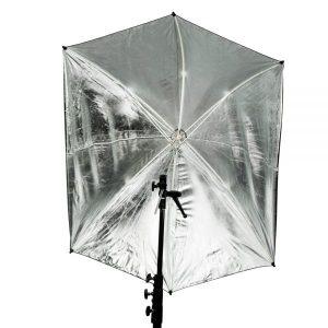 """ADH 30"""" Silver Adjustable Umbrella"""